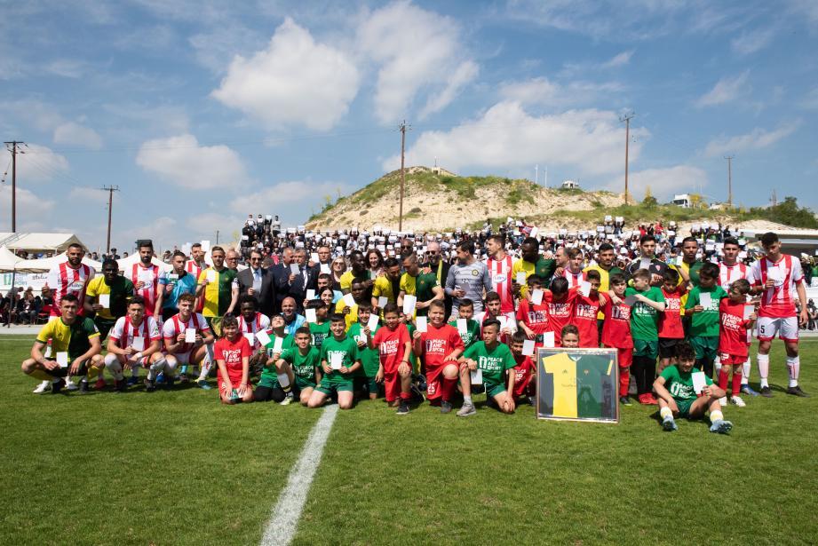 La campagne #WhiteCard 2019 a été lancée à Chypre, à l'occasion de ce match pour la paix.