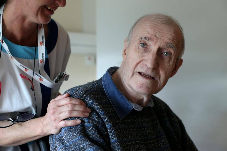 Jean-Michel fait partie d'un groupe de travail pour améliorer la bientraitance au sein du centre Lachenaud