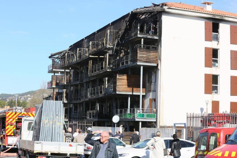 """""""Dès que l'expert nous l'aura autorisé, nous allons murer les entrées du bâtiment par mesure de sécurité"""", souligne le président de la SAIEM."""