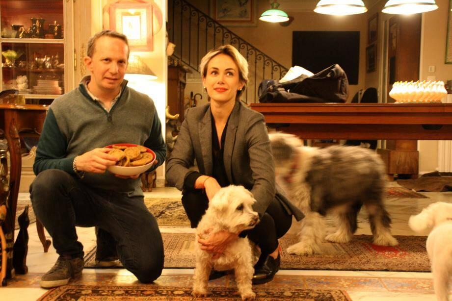 Laurent Schindelman et  Pauline Mauche ont mené un partenariat afin d'aider les animaux de compagnie dans la détresse.