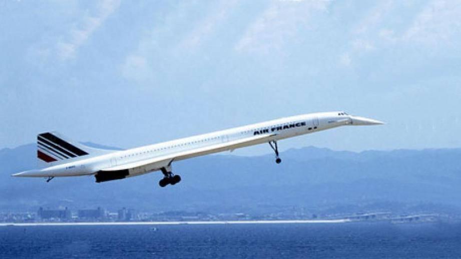 Image d'illustration du Concorde.