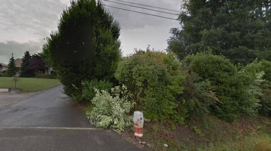 Le corps de l'ex-agent de la DGSE a été découvert sur un parking situé chemin des Arales à Ballaison (Haute-Savoie).