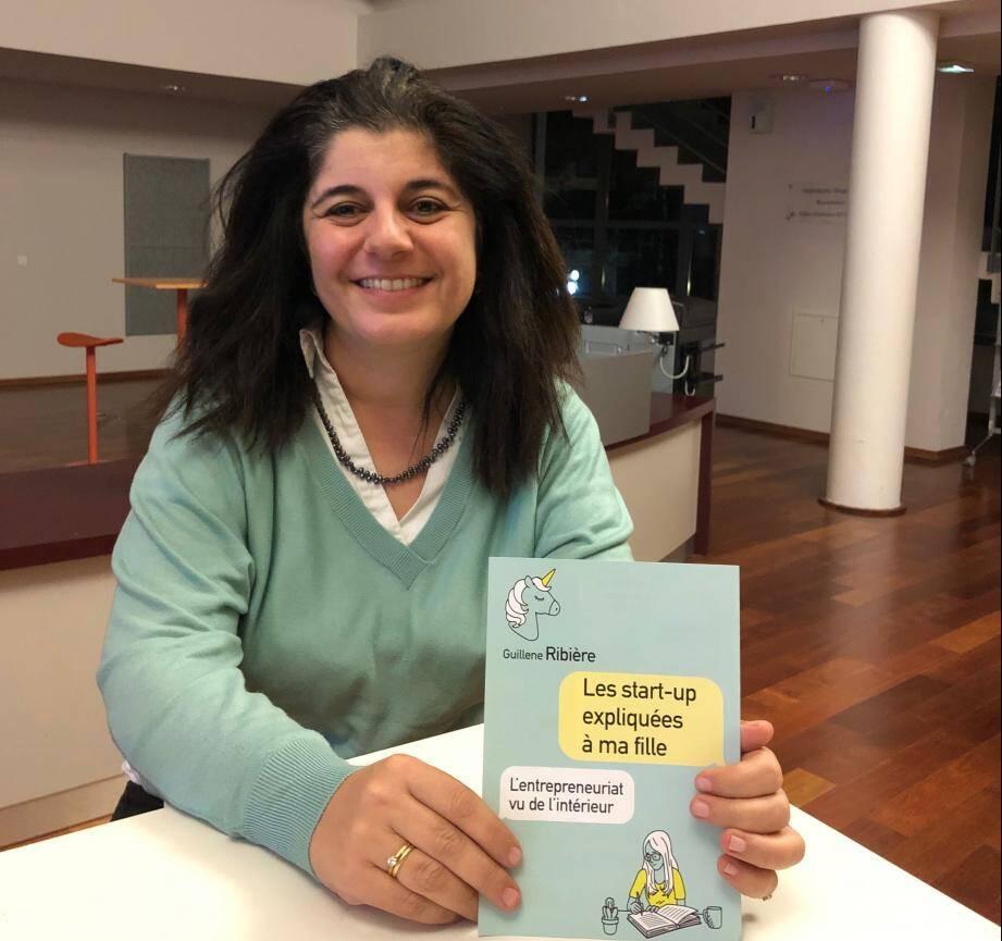 Guillene Ribière a appliqué à son projet de livre la même méthode qu'elle utilise avec les startups qu'elle accompagne: une approche itérative qui lui a permis d'être publiée.