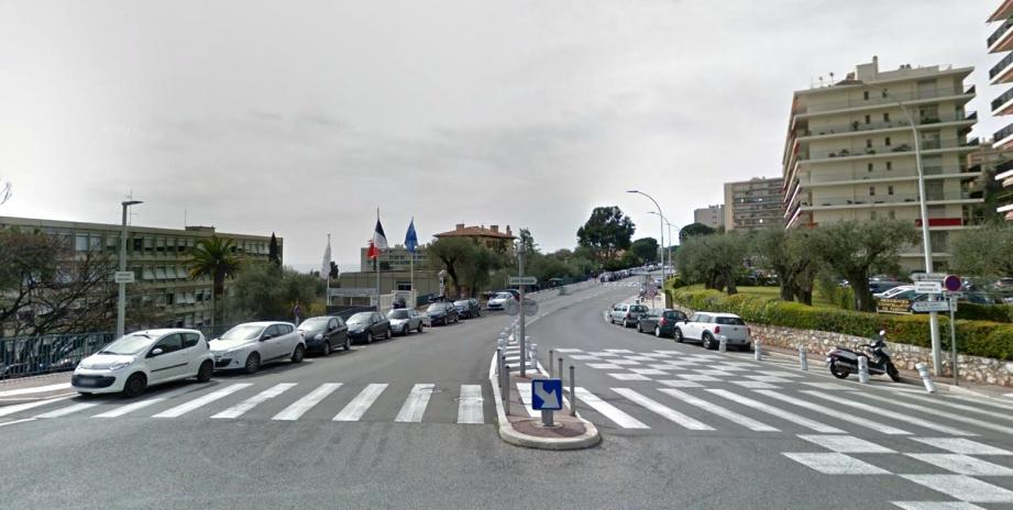 Le boulevard Napoléon III, à Nice.
