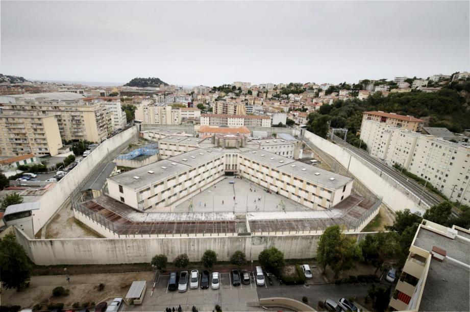 La prison de Nice.