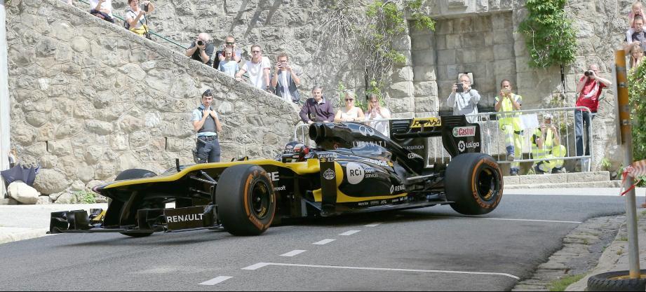 Après Roquebillière l'an passé, les F1 s'inviteront à Auron le 2 mai prochain.