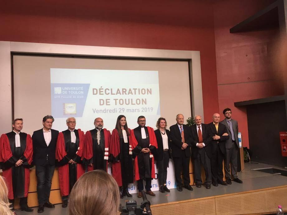 La Déclaration de Toulon propose une évolution du statut de l'animal.