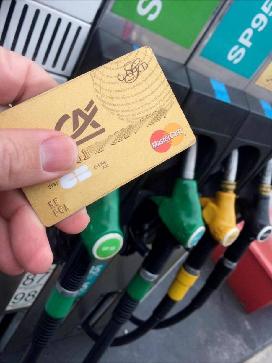 Illustration du prix à la pompe.
