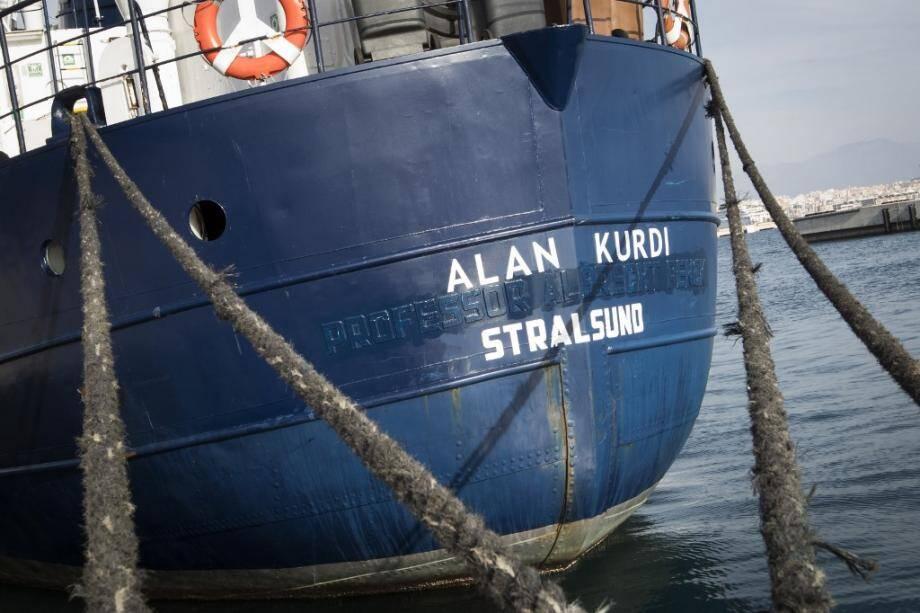 Le navire de Sea-Eye, baptisé Alan Kurdi en mémoire du petit Syrien retrouvé noyé sur une plage turque.