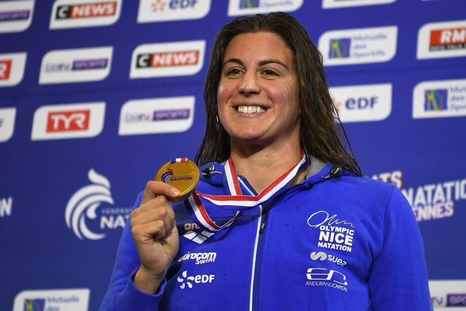 Charlotte Bonnet a remporté une première médaille à Rennes.