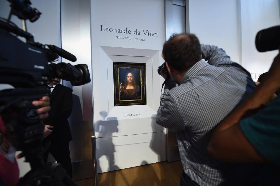 Christie's révélait le 'Salvator Mundi' de Leonard de Vinci en octobre 2017.