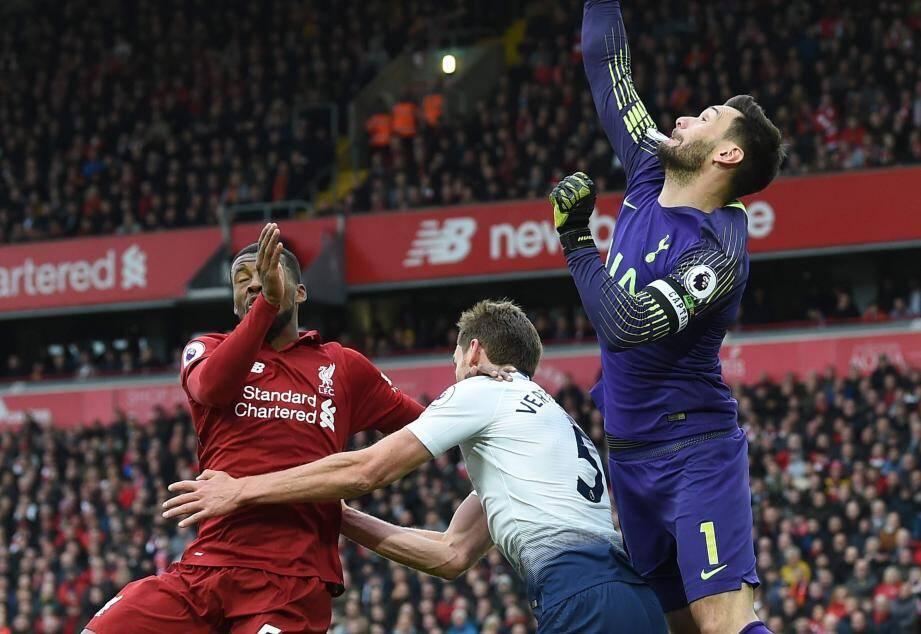 Hugo Lloris a fait une boulette contre Liverpool.