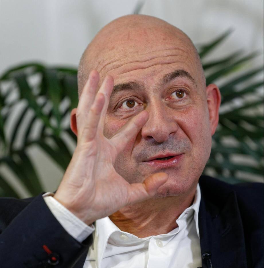 François Lenglet, à Toulon le 17 avril 2019.
