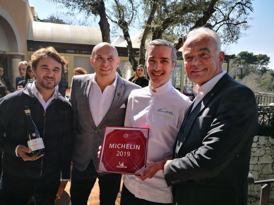 Xavier Burelle a reçu sa première étoile du guide Michelin et maintient ainsi le Mas Candille au firmament.
