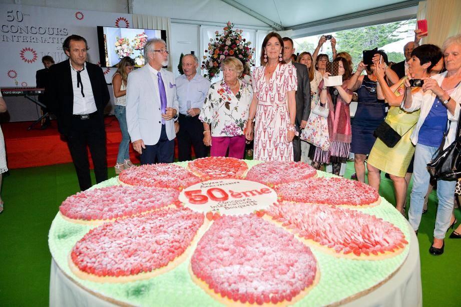 En 2017, pour la dernière édition, la princesse Caroline avait célébré le 50e anniversaire de la compétition.