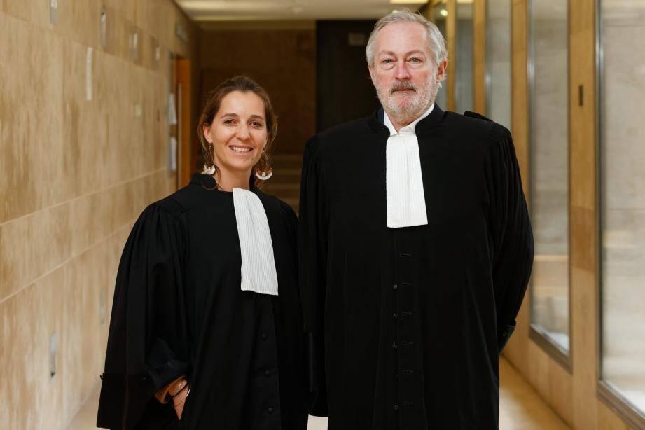 Mes Flora Gavuzzo et Philippe Dehapiot, avocats de Michel Ristic.