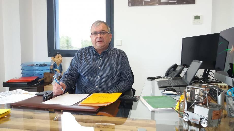 Olivier Riandée, partenaire du syndicat des vignerons du Var, reconnaît que son entreprise a connu, en dix ans, « une belle progression ».
