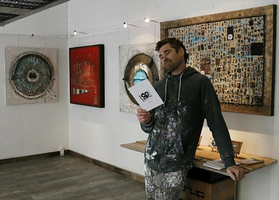 L'atelier de l'artiste plasticien Christopher Cook, 10 avenue Tournelli à Antibes, proposait un univers très décalé l'an dernier.