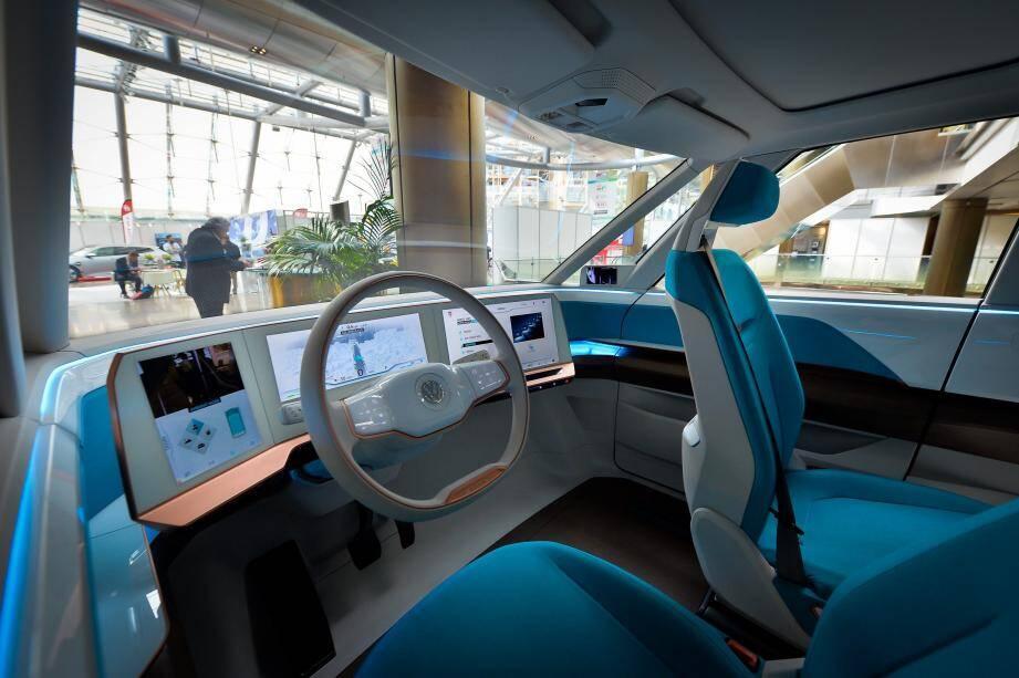 Le salon Ever est un moment propice pour présenter des innovations futuristes, comme ce minibus 100% propre présenté l'an dernier.
