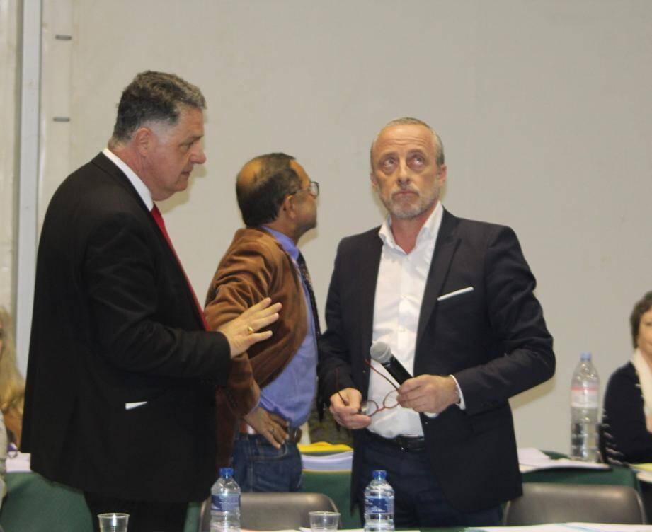 Jean-Pierre Mangiapan et Christophe Trojani ont repris leurs querelles.