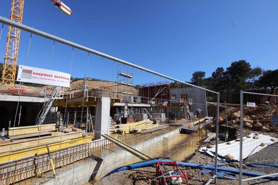 Un contrôle « approfondi » est prévu ce lundi sur le chantier, a annoncé adjoint à l'urbanisme Michel Viano.