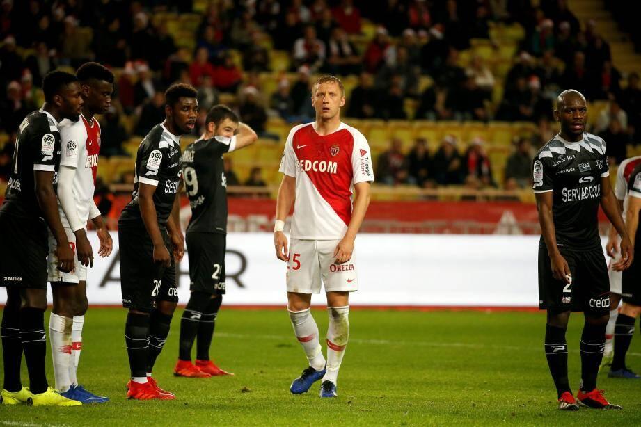 Au match aller, en décembre, Guingamp était venu s'imposer sur le Rocher (2-0).