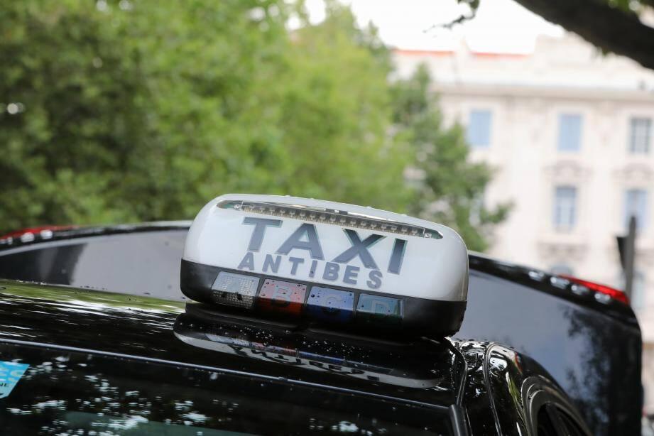 Un taxi antibois. Illustration.