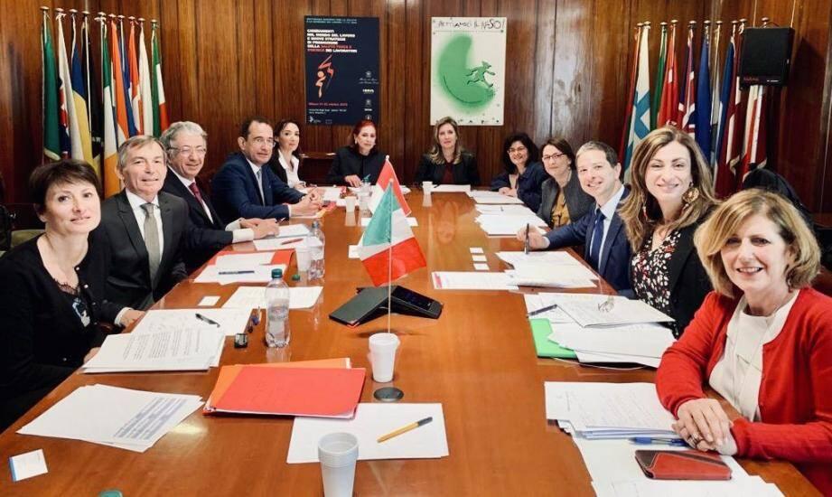 Italie et Monaco ont convenu de mettre en place le télétravail entre les deux pays au plus tôt.(DR)