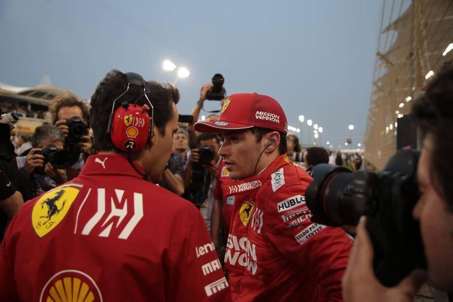 Les longues lignes droites du circuit de Shanghai devraient bien convenir à la Ferrari de Charles Leclerc. Encore faut-il que son moteur tienne la distance...