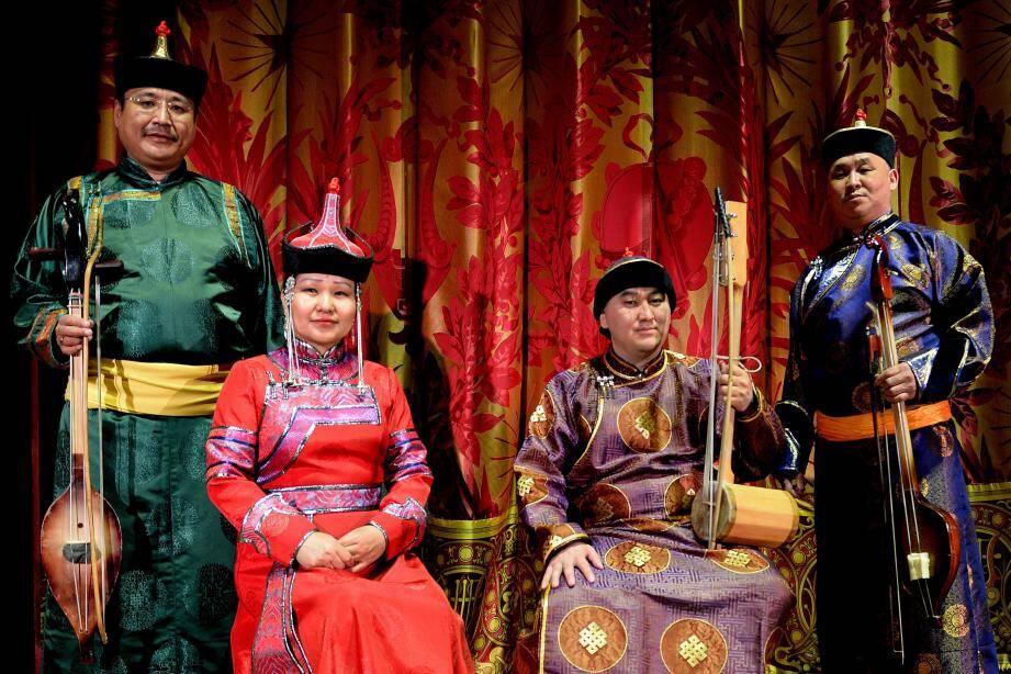 Le groupe Chirgilchin, adepte de la «diphonie» mongole, a conclu le Printemps des Arts 2019, ce dimanche à l'Opéra.