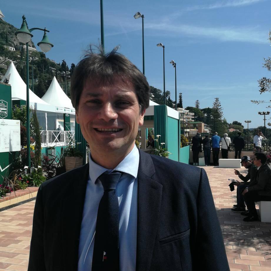 Arnaud Boetsch est aujourd'hui directeur de la communication de Rolex.