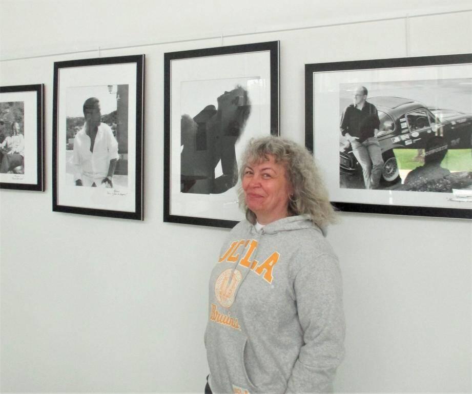Laurence Boulet, l'éducatrice spécialisée transformée en photographe, a aussi posé.