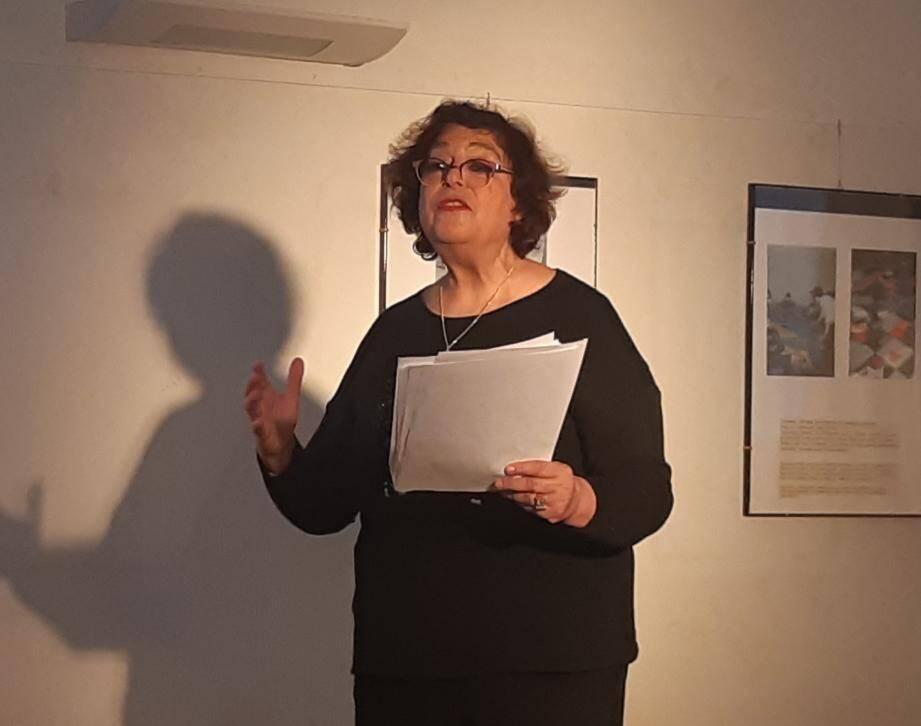 Un spectacle lecture théâtralisé par Brigitte Mselatti accompagnée par un pianiste.