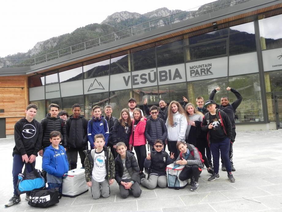 Une belle excursion pour les jeunes de l'EMJ. (DR)