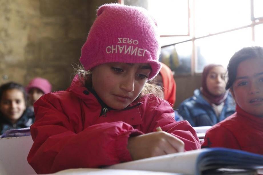 Les bénéfices seront intégralement reversés au profit des enfants du Liban et du Niger.
