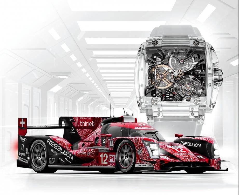 Qui succombera pour cette voiture vainqueur des 24 Heures du Mans en 2016 et cette montre unique dans l'industrie de la haute-horlogerie ?