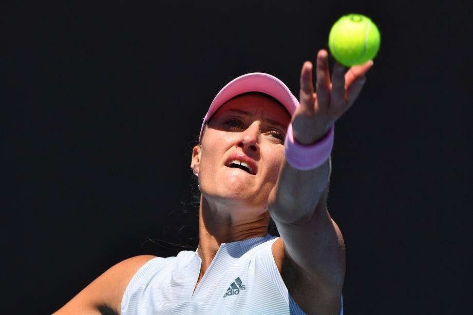 De retour sur le court en tant que titulaire, Kristina Mladenovic ouvrira les hostilités, cet après-midi (14 h) à Rouen. Direct dans le vif du sujet contre Simona Halep !