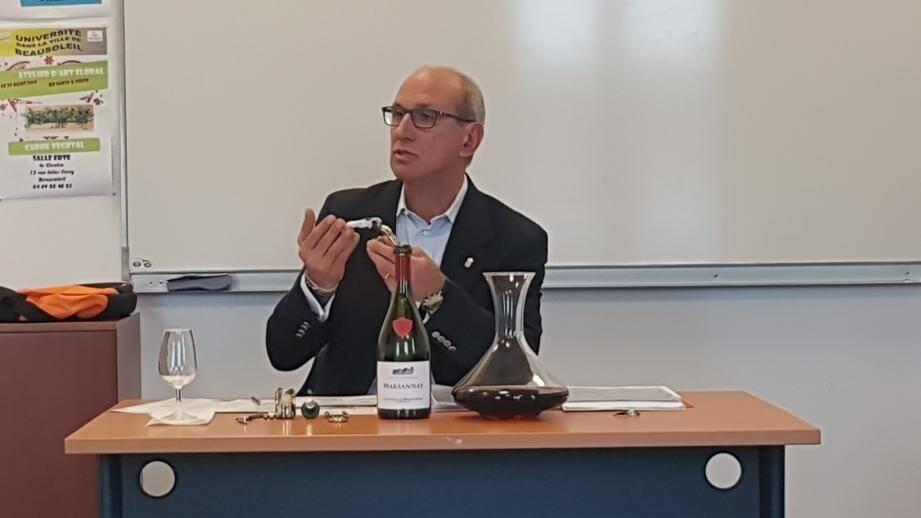 Giuseppe Novena aime partager sa passion.(DR)