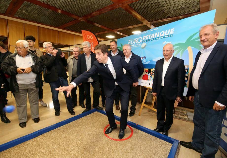 L'Europétanque a commencé, hier, à Nice-Matin...