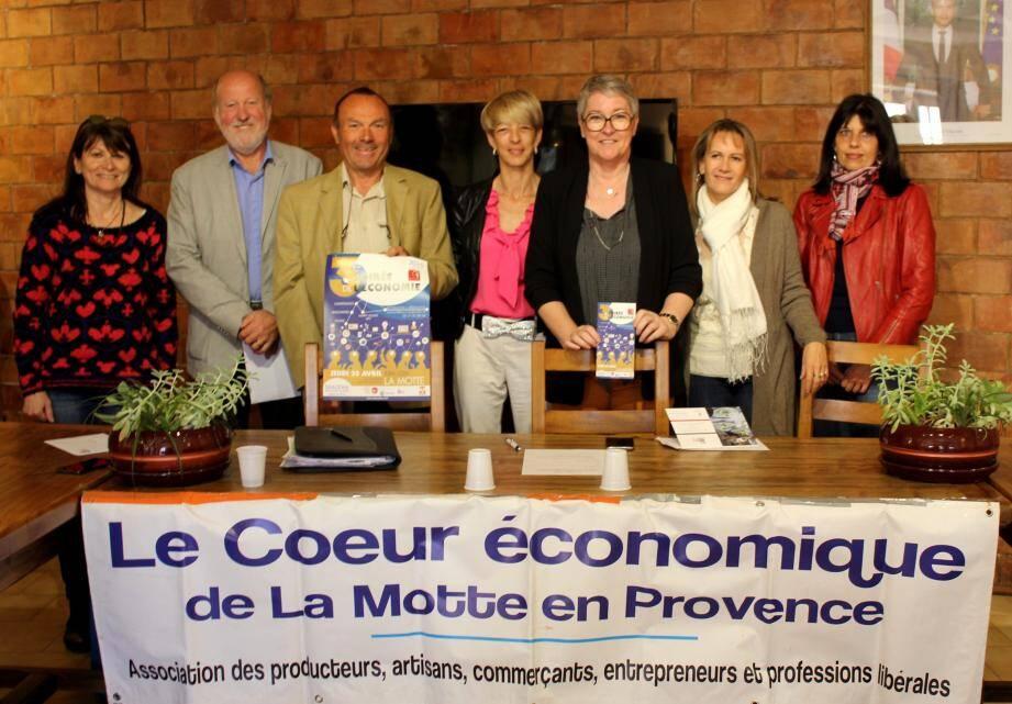 Plusieurs organismes ont présenté cette soirée de l'économie.