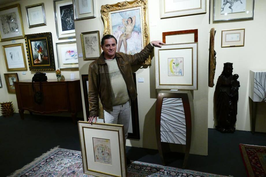 Sur le salon d'Antibes, un stand exceptionnel pour tous les amateurs d'art : celui de l'Art Gallery de Christian Jacques.
