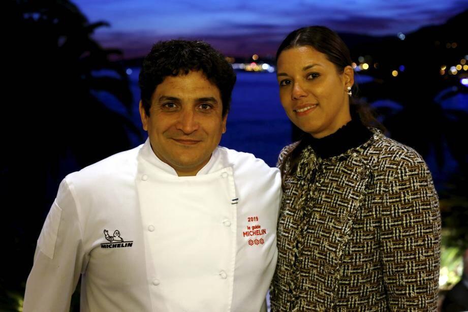 Le chef étoilé Mauro Colagreco.