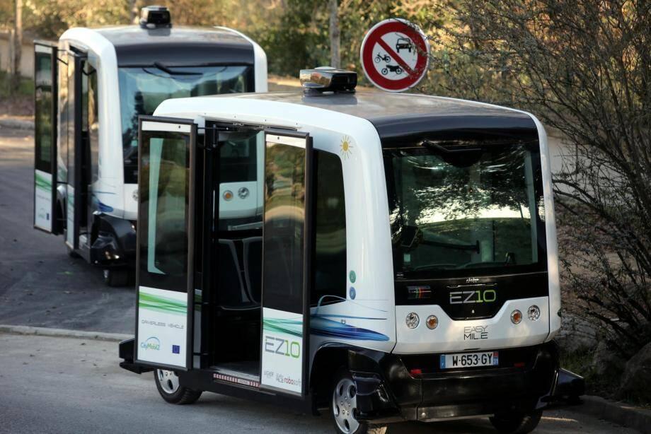 Des véhicules autonomes avaient déjà été testés à Biot en 2016.