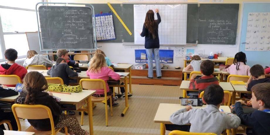 La nouvelle réforme de l'école soulève de nombreuses protestations à travers l'Hexagone... comme à Mouans-Sartoux. (DR)