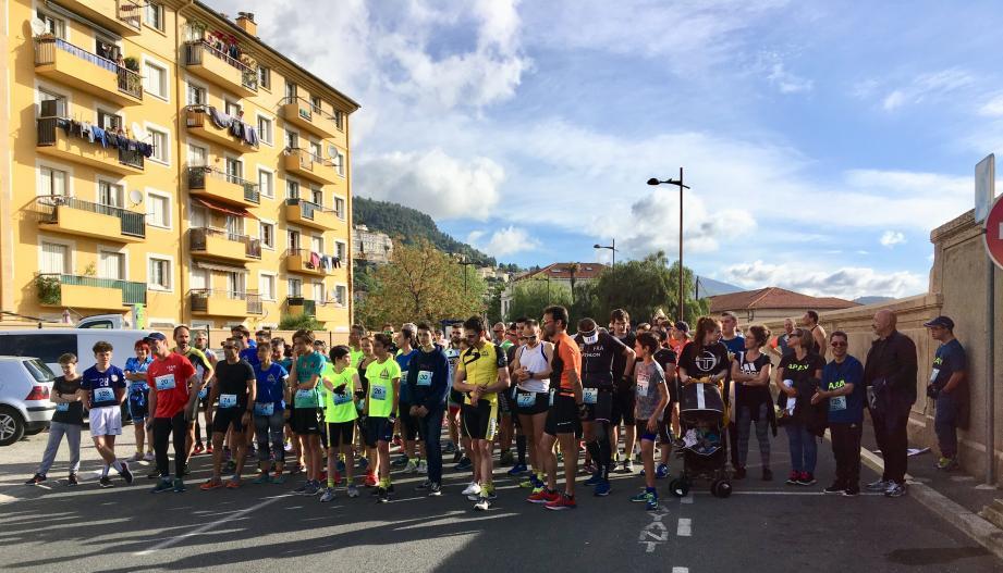 139 participants ont pris part au départ de la 4e édition des «Chaussettes en compet'».