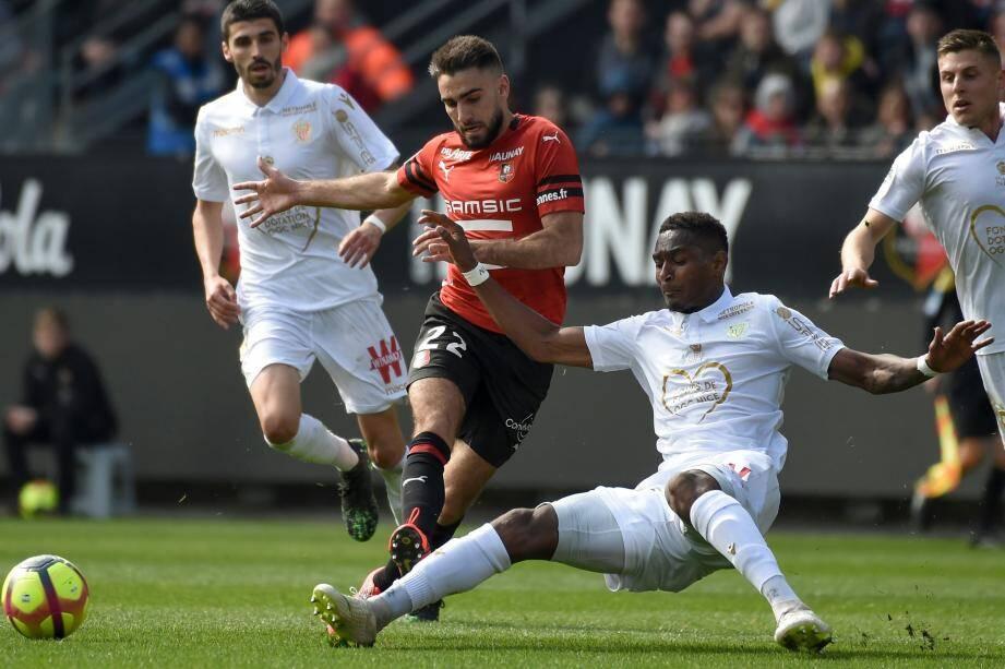Les Niçois ont plié mais n'ont pas rompu contre Rennes.