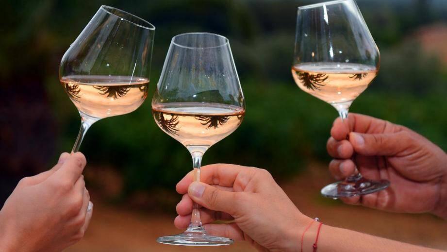 Du rosé (image d'illustration)