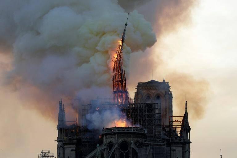 La flèche de Notre-Dame va être reconstruite.