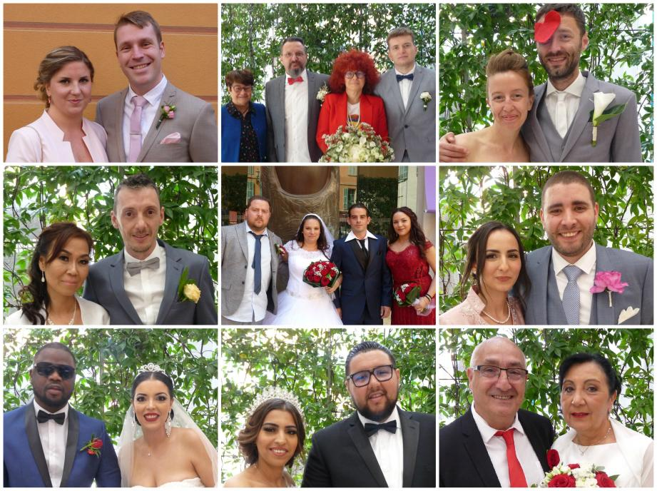 Nice-Matin félicite les époux et leur souhaite beaucoup de bonheur!