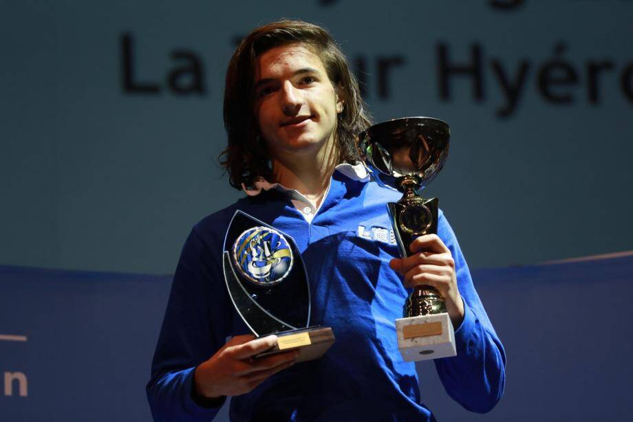 Rémy Degraeve, champion de France minime U16.